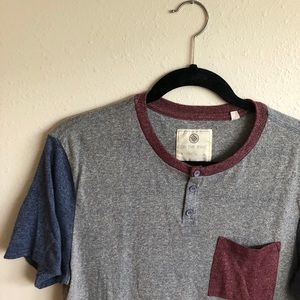 Men's color-block T-shirt